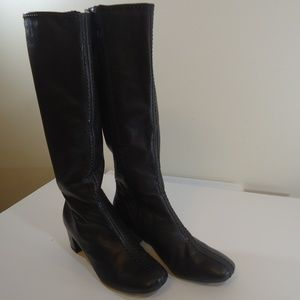 Eddie Bauer leather boots sz 9 euc